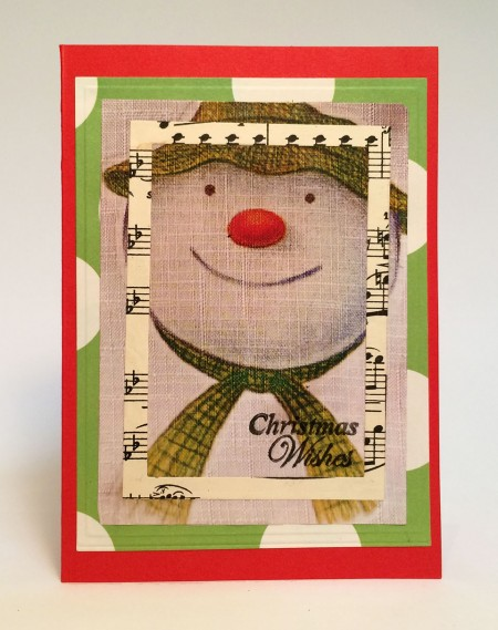 Love the Snowman? This card is perfect for you!