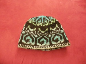 The Frosty Temple Cats Hat