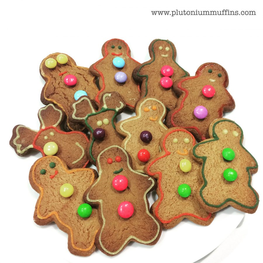 Tasty tasty gingerbread men!