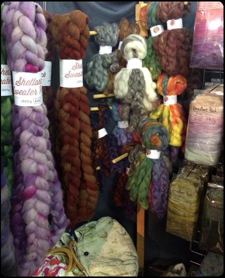 A selection of fibre at Hilltop Cloud.