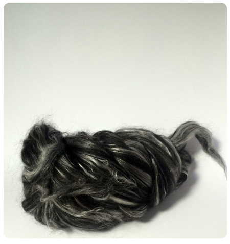 Humbug Roving from John Arbon Textiles.
