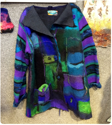 Another beautiful felted coat.