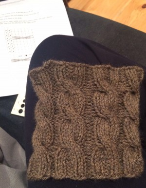 Some of my December knitting.