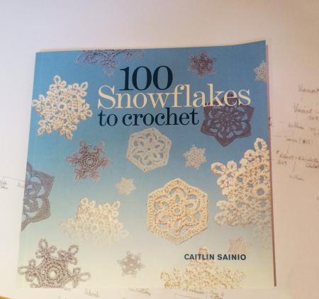 Yay, crochet snowflakes!