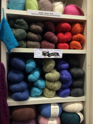 John Arbon Textiles Knit by Numbers - my yarn of the month!