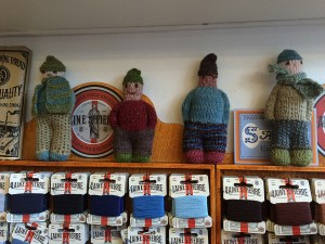 Gorgeous knitted toys.