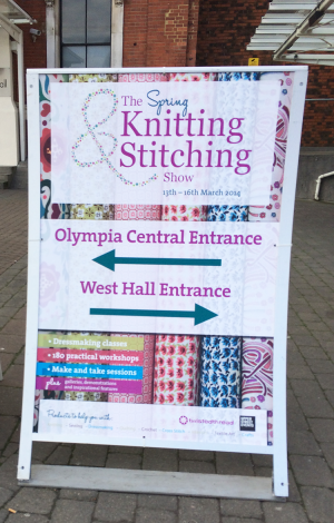 Knitting and Stitching Show with the UKHKA - Plutonium Muffins