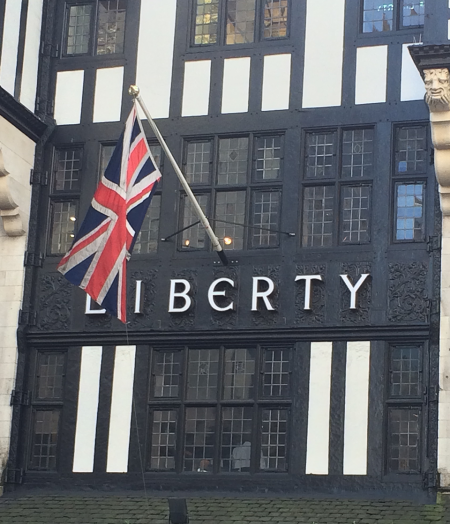 Liberty from the front.