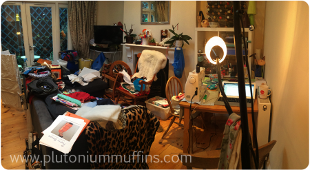 Sewing bomb hits the lounge.