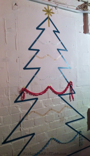 The washi tape Christmas Tree.
