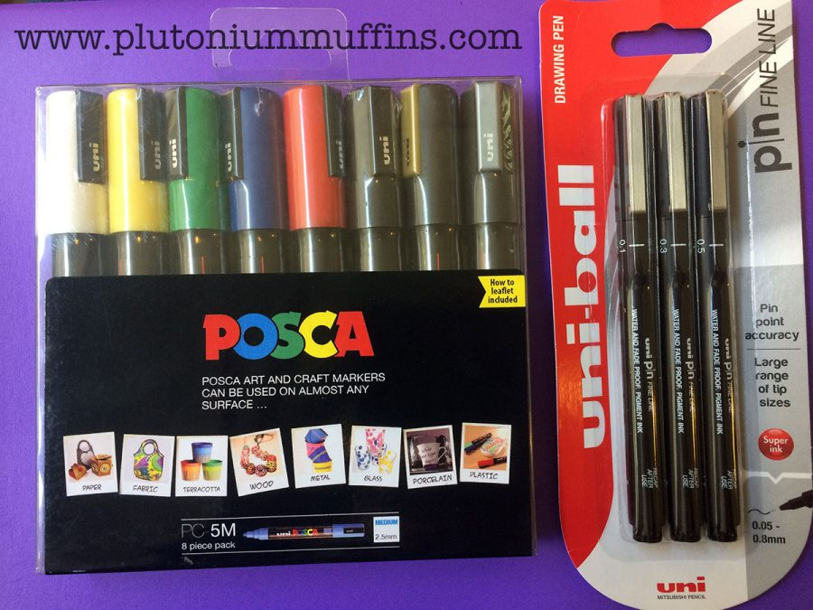 The pens I was sent by Uniball.