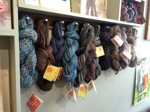 Peruvian yarns.