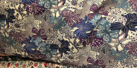 Flower Fabric in Liberty.