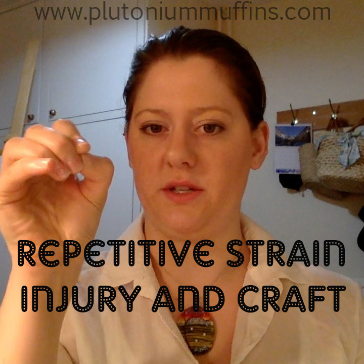 Repeated: Repetitive Strain Injury in craft is a Serious Problem.