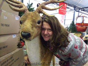 I found me a reindeer.