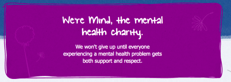 Mind, the Mental Health Charity.