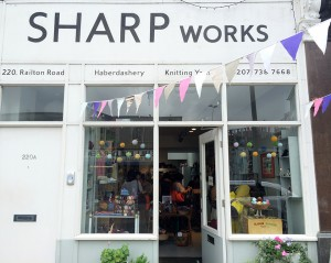 Sharp Works in Herne Hill.