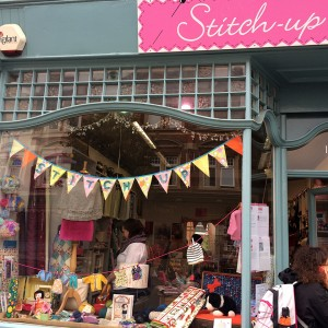 Stitch Up shop front.