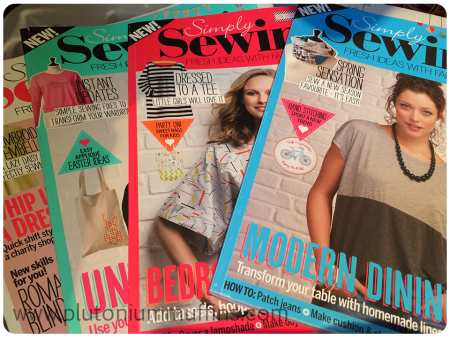Simply Sewing Magazine.