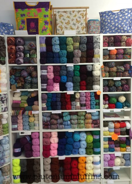 Loads and loads and loads of yarn.