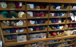 A drawer full of sock yarns!