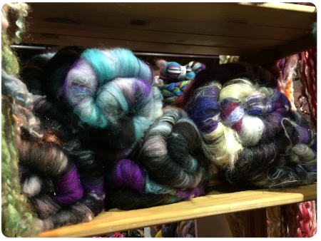 Spin City batts, so gorgeous.