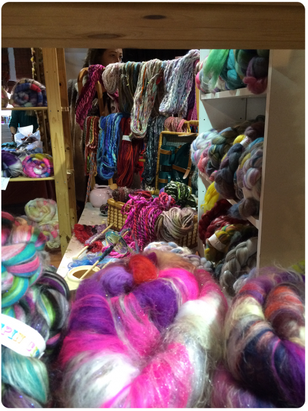 SO MUCH LOVELY FIBRE at Spin City!