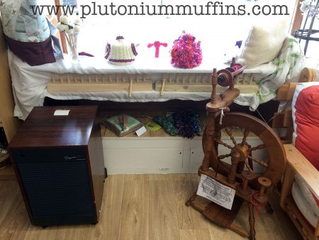 The spinning wheels on sale are gorgeous, OOAK specimens.