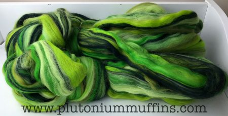 Some merino fibre - 300 g of it from Wingham Wool Work