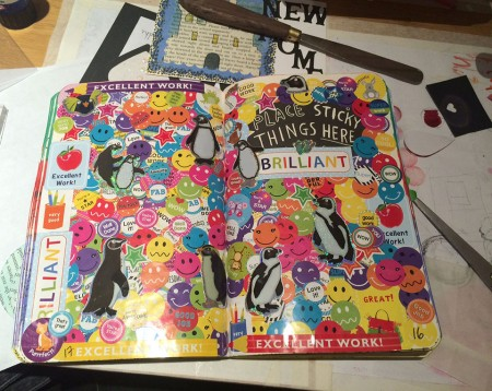 """Hundreds of Stickers to make me feel good in my '""""Wreck This Journal"""""""