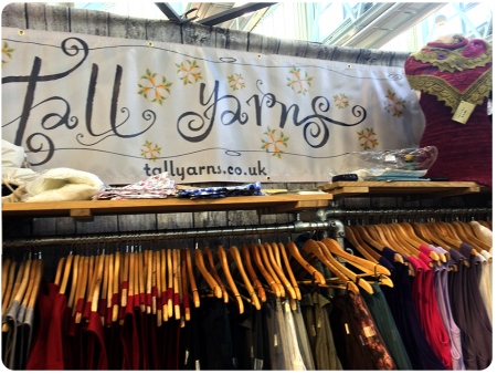 The Tall Yarns banner! Love this.