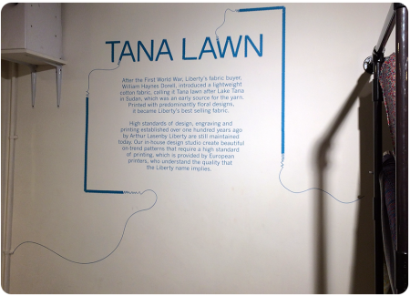 The story behind Tana Lawn fabric.