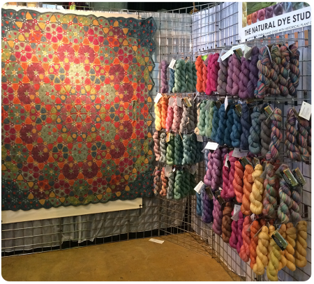 The Natural Dye Studio - and incredible crochet blankets!