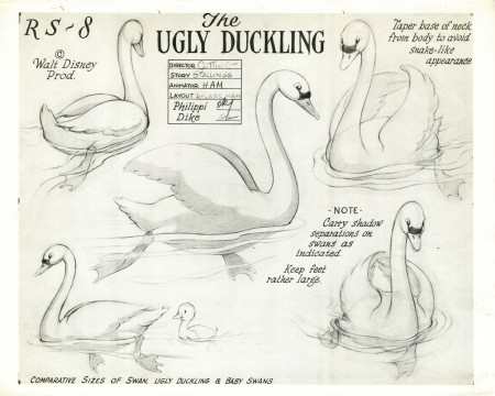 The Ugly Duckling, more than a morality tale?
