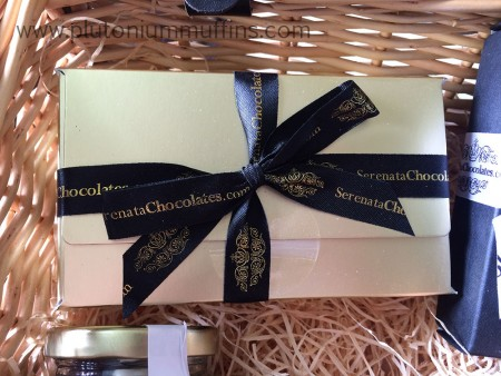 A box choc full of truffles.