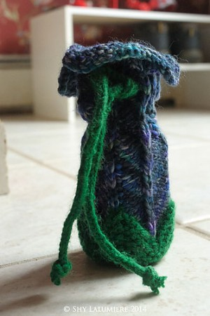 Tsaria's dice-bag. Image copyright Tsaria 2014.