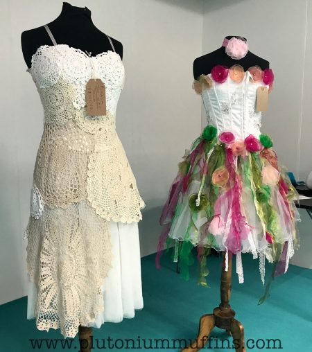 Victorian and Alice in Wonderland inspired dresses from Val Hughes.