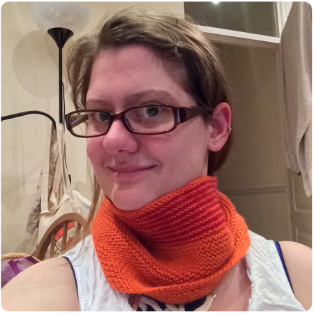 The Rikke Cowl in March 2015.
