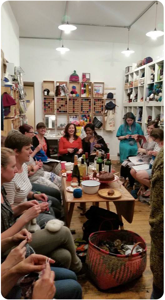 Whole group with me right at the back. (Copyright Rosamund Platford)