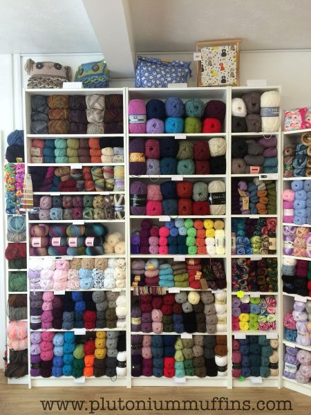 More beautiful yarns - a large quantity of which has a significant pure wool content.