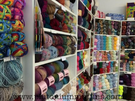 More yarns to choose from.