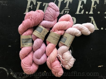My beautiful OOAK Kettle Yarn Co yarn.