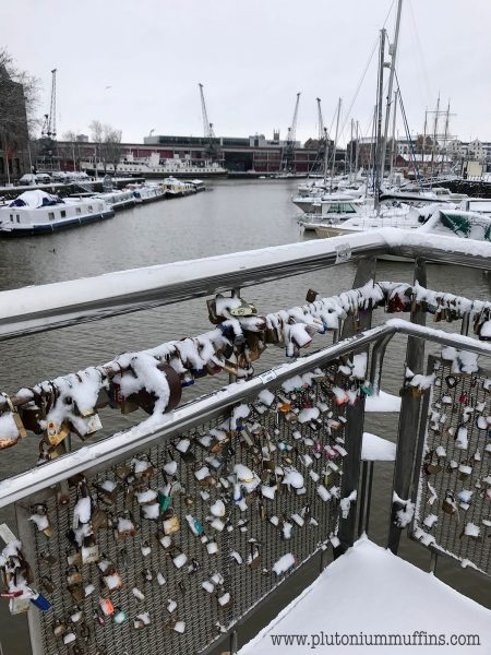 Love locks on Pero's Bridge - don't forget, you are nice!