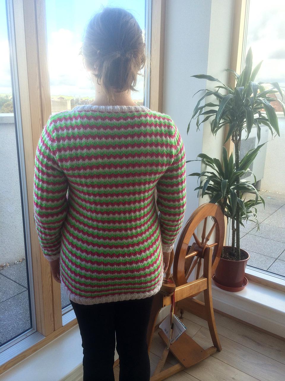 Watermelon Sweater