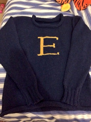 Weasley Sweater in all of its glory.
