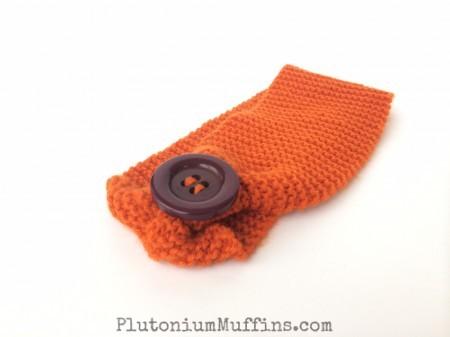Headband in orange