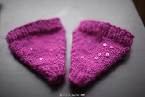 Knitted earmuffs by tsaria